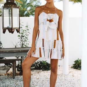 Hello Molly Give Love Back dress in tan